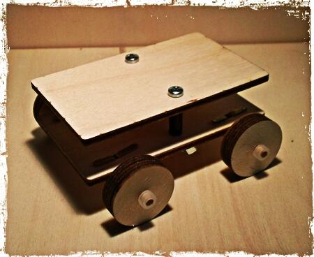 kit di montaggio macchinina creativa