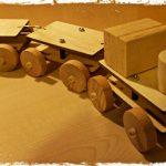 kit di montaggio trenino