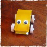 kit di montaggio macchinina con occhi (fronte)