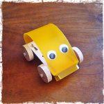 kit di montaggio macchinina con occhi