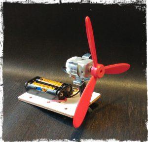kit ventilatore a batteria