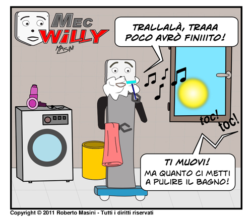 Fumetto MecWilly