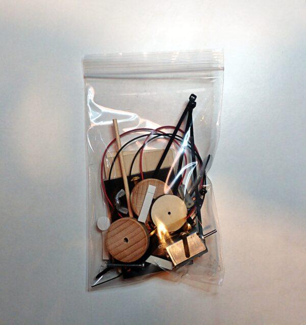 Pacchetto del kit macchinina solare