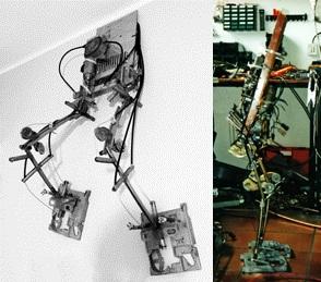 Robot gambe in acciaio: Antenato MecWilly