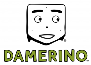 Damerino robot logo