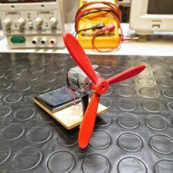 costruzione ventilatore solare