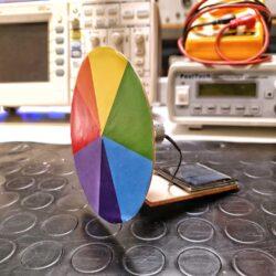 costruzione ruota di Newton solare