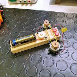 Sistema dinamo motore e led