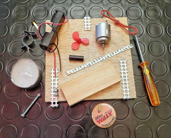 kit per scuola inventori