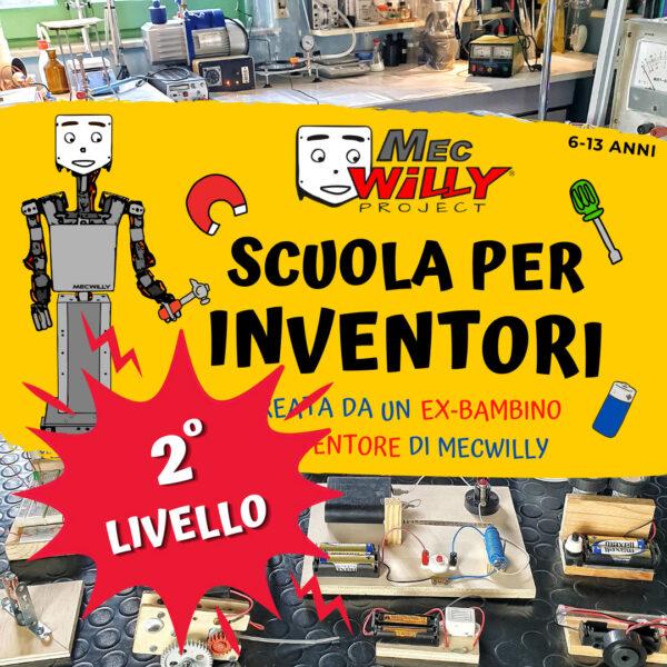 secondo anno scuola per inventori