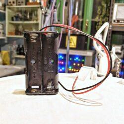 portapile doppio per batterie AA stilo