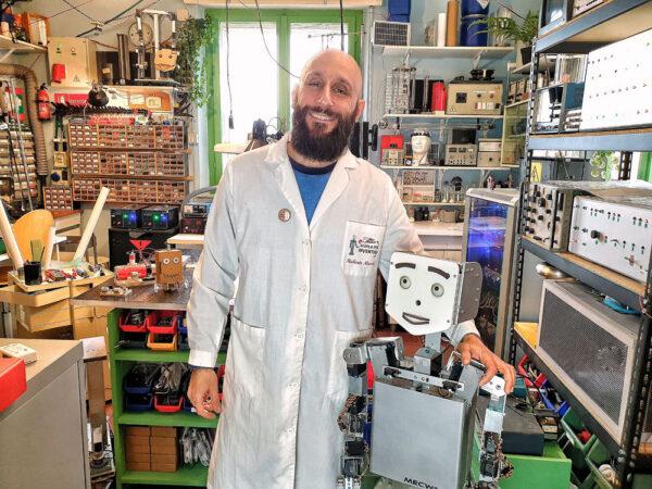 Roberto Masini e MecWilly - Scuola per inventori