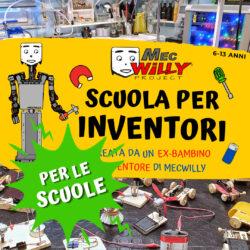 Inventori a scuola - per scuole, associazioni ed altri enti