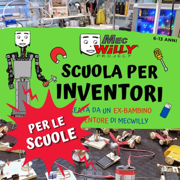 scuola per inventori per scuole, associazioni ed altri enti