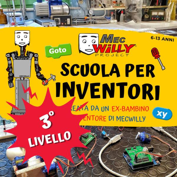 scuola inventori 3 livello