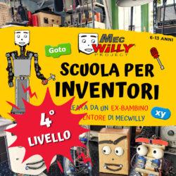 scuola inventori 4 livello