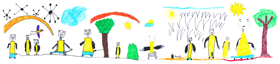 mecwilly disegnato dai bambini